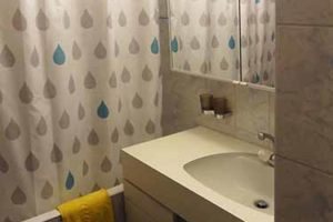 Appartement Nendaz salle de bain