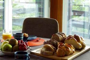 Appartement Nendaz breakfast
